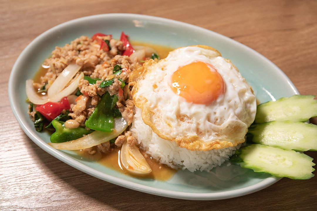 """recipe The hired Gapao shop charges! Tips for making """"Krung Siam Nakameguro"""" style Gapao rice"""