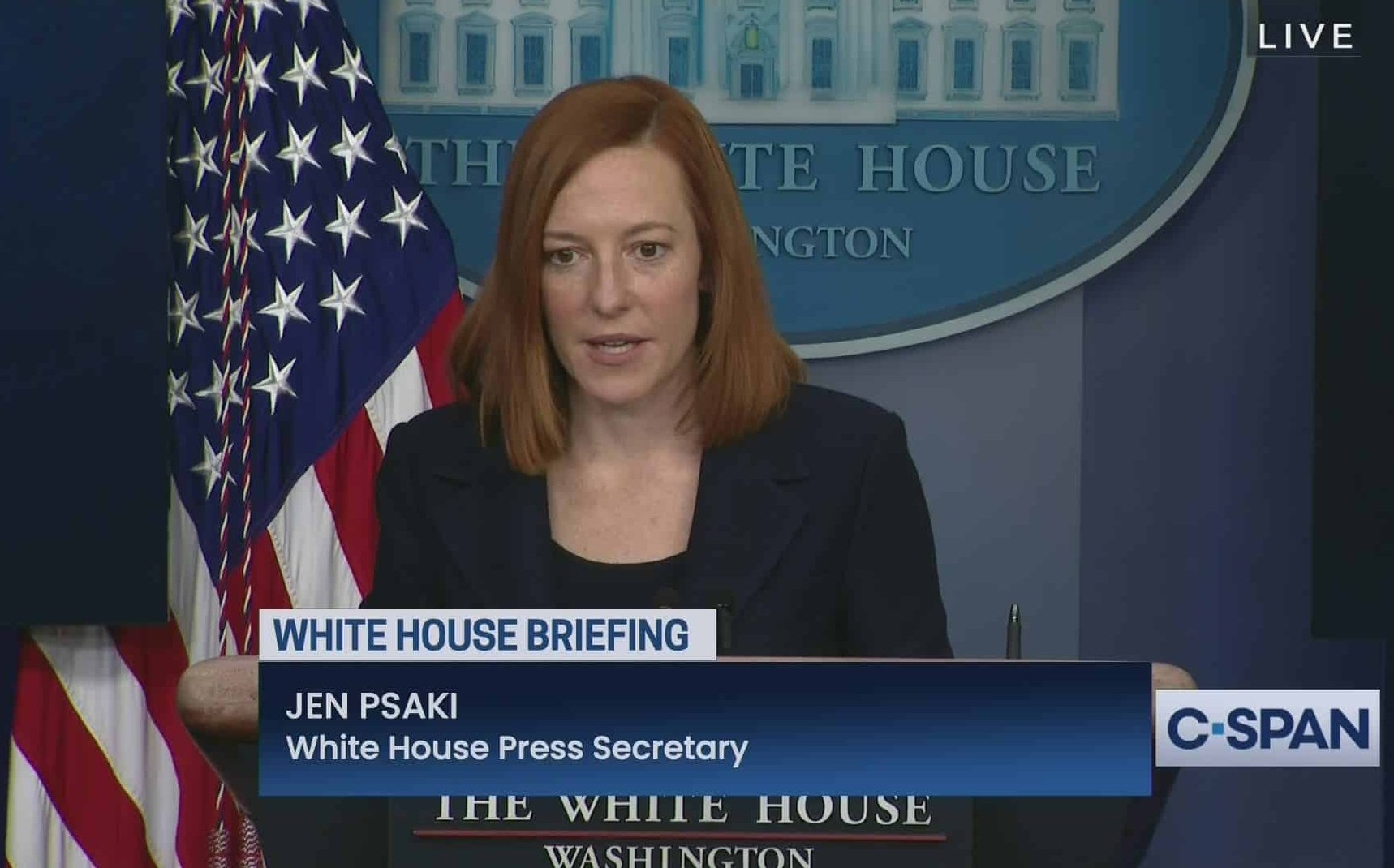 "Jen Psaki denies the ""ridiculous"" allegations that Joe Biden is being controlled"