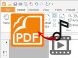 How to insert audio, music into PDF files using Foxit Reader
