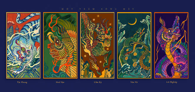 'One Hundred Shadow Clouds' - Interpreting traditional elements in Vietnamese cultural flow 3 minutes to read