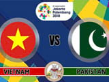 How to watch Vietnam U23 vs Pakistan U23 14/8 live