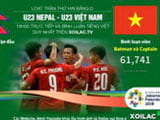 Link to watch U23 Vietnam on xoilac tv