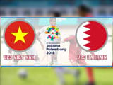 How to watch Vietnam U23 vs Bahrain U23 live on computer, VTC3