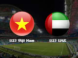 Live stream U23 Vietnam vs UAE U23