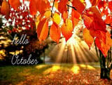 Beautiful pictures of October