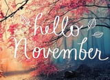 Welcome November pictures as no