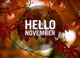 Pictures of November are beautiful