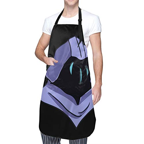 Valoran-T Waterproof Adjustable Kitchen Apron With Pockets Bib For Cooking
