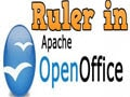 Display the Rulers and the alignment rulers in OpenOffice