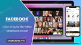 How to use Facebook Messenger Rooms, video call 50 members at the same time