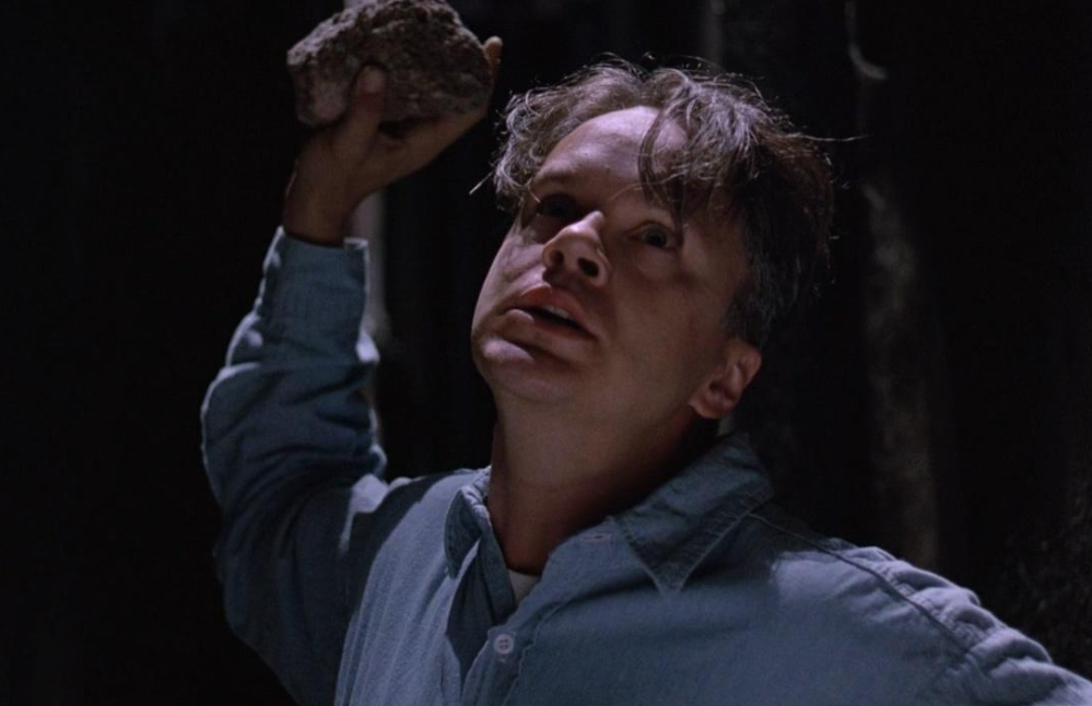 What does the movie ``Shawshank's Redemption'', Andy's departure, show