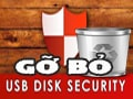 Uninstall and delete the USB Disk Security software on Win 7, 8, 10