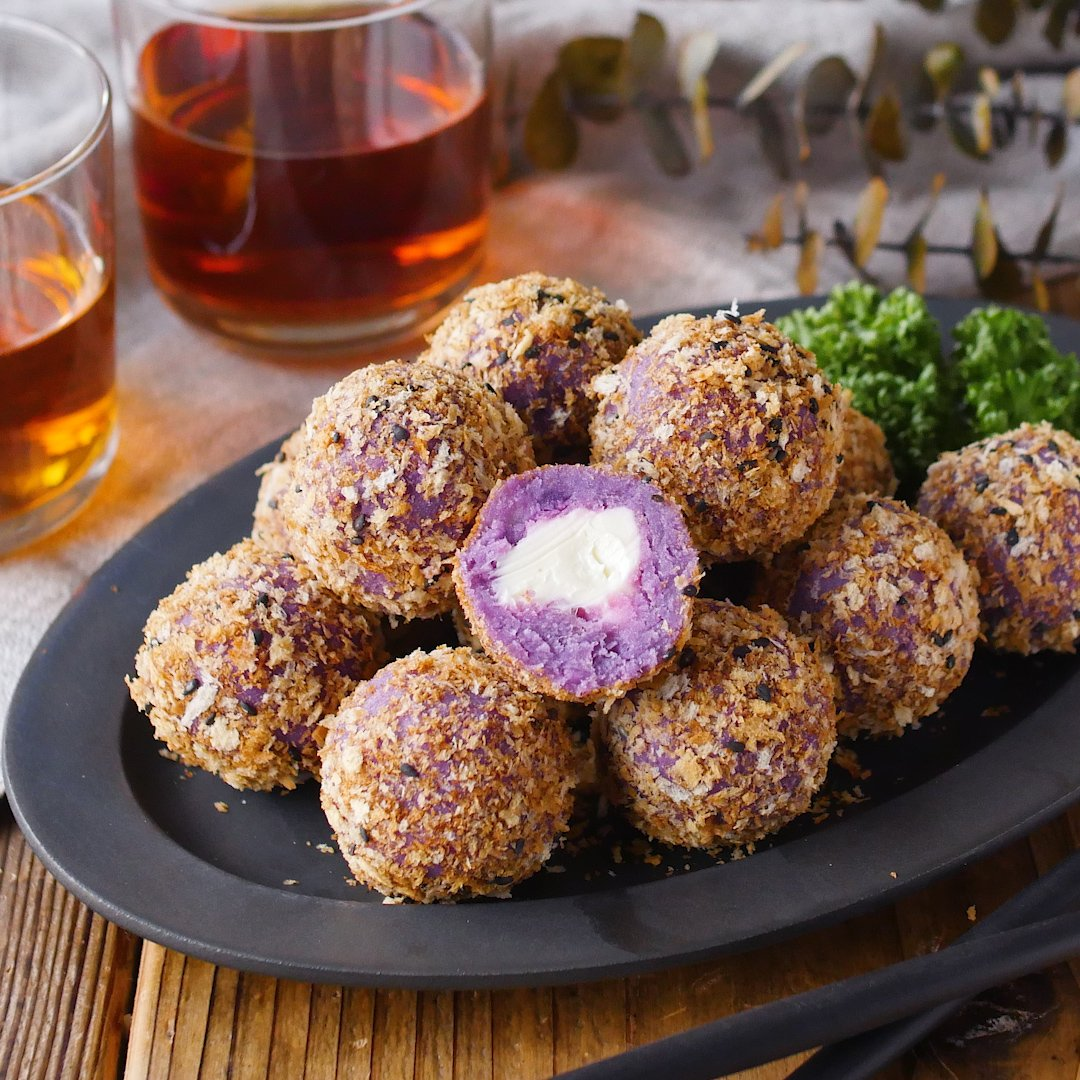 recipe Easy without frying!Sweet potato croquette