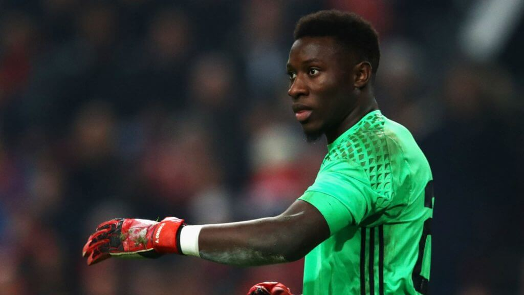 Onana started for Ajax since 2016, at the age of 20.  Photo: Goal.