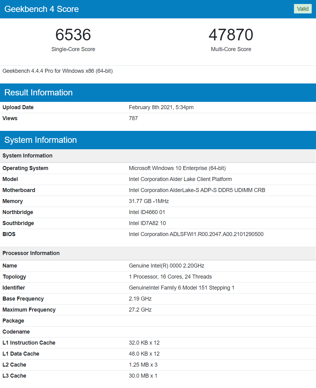 Sforum - Latest Technology Site Intel-Alder-Lake-16-Core-24-Thread-Desktop-CPU-12th-Gen-Core-Processor Introducing the performance of Intel's first 10nm CPU for desktop PCs, 16 cores only equal to the Core i9-10900K