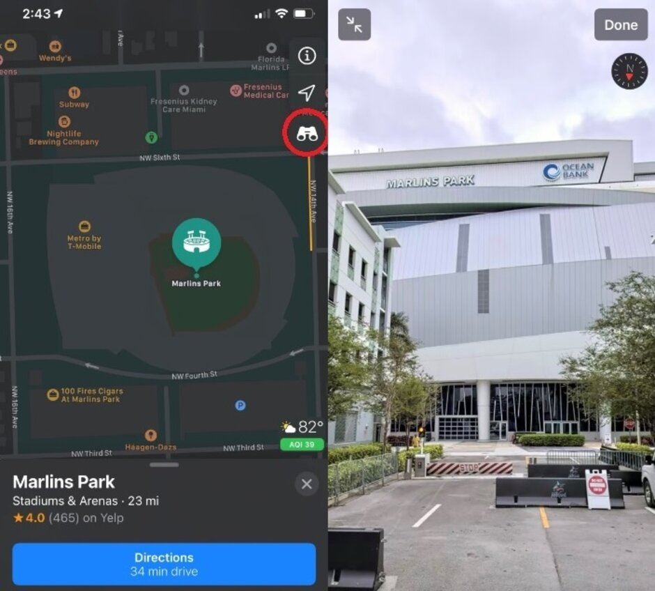 """Use Apple Maps Look Around feature to take virtual tours of certain cities - Apple adds more cities that you can virtually tour through its """"Look Around"""" feature"""