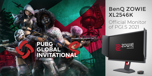 BenQ's ZOWIE XL2546K was announced as the official screen for the PUBG Global Invitational.S 2021 tournament - Photo 1.