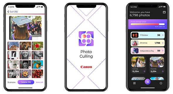 Canon Photo Culling is a new iOS app that uses artificial intelligence to evaluate your photos: Digital Photography Review