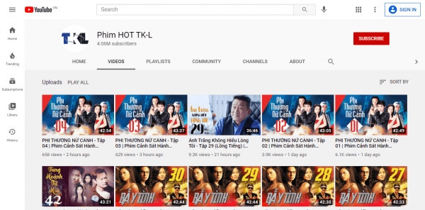 Check out the free YouTube movie channels to watch on Tet 1
