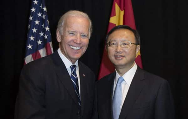 """Mr. Duong Khiet Tri raised his voice and suggested that Mr. Biden """"do not confront"""""""
