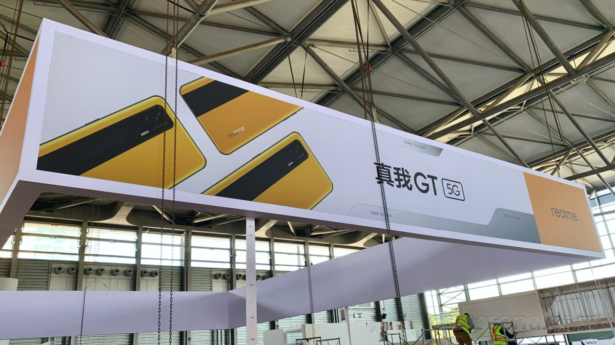 Exclusive: Realme GT pictured at MWC Shanghai