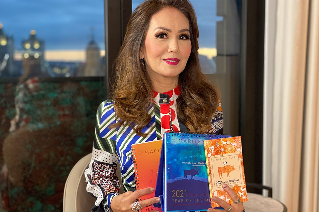 Marites Allen, who was known as the Queen of Feng Shui of the Philippines.  Photo: Mama.co.uk
