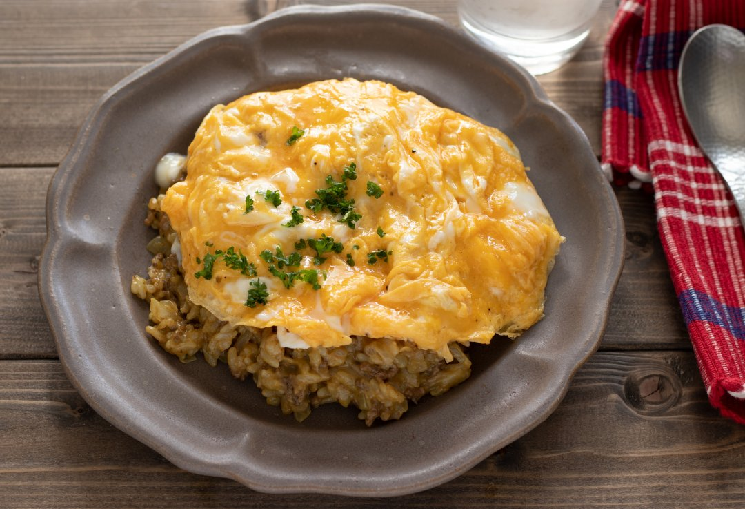 recipe Completed in 15 minutes! Homme curry risotto[OL work meal]