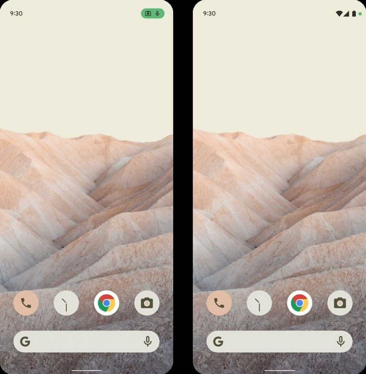 Here's our first look at the Android 12 redesign