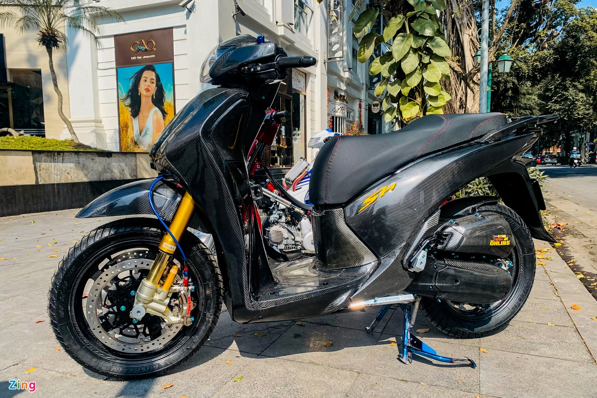 Honda SH 150i super product with the same package as the price of the wheel of Kia Seltos photo 1