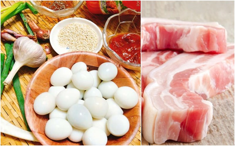 How to cook braised meat and eggs with a rice cooker in accordance with Tet's taste