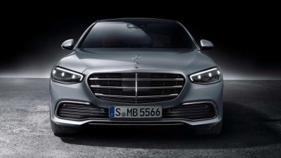 """2021.02.04.  32,582 read Benz's new S-class armed with new technology, domestic sortie imminent...""""Will it sweep the luxury sedan market?""""         Motoroid 49"""
