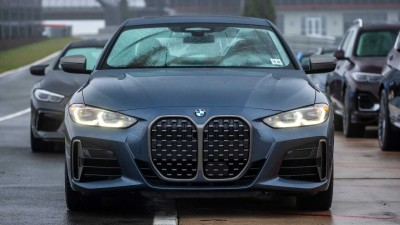 2021.02.01.  6,156 read'BMW New 4 Series' with vertical kidney grill applied in Korea Auto issue 35