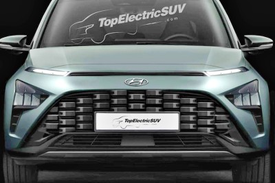 """2021.02.09.  36,442 reads   """"Does it really come out like this?"""" Hyundai Motor's new SUV design leaked Automobile Korea 78"""
