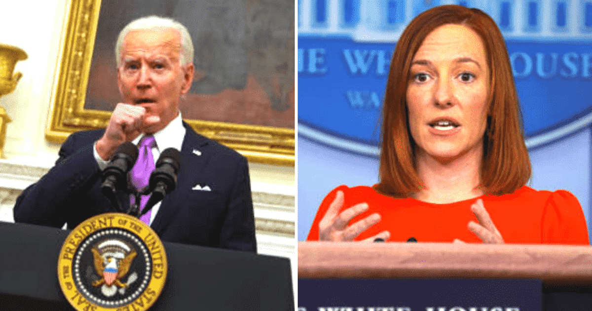 The White House resident correspondent says the Biden team wants to know the question first