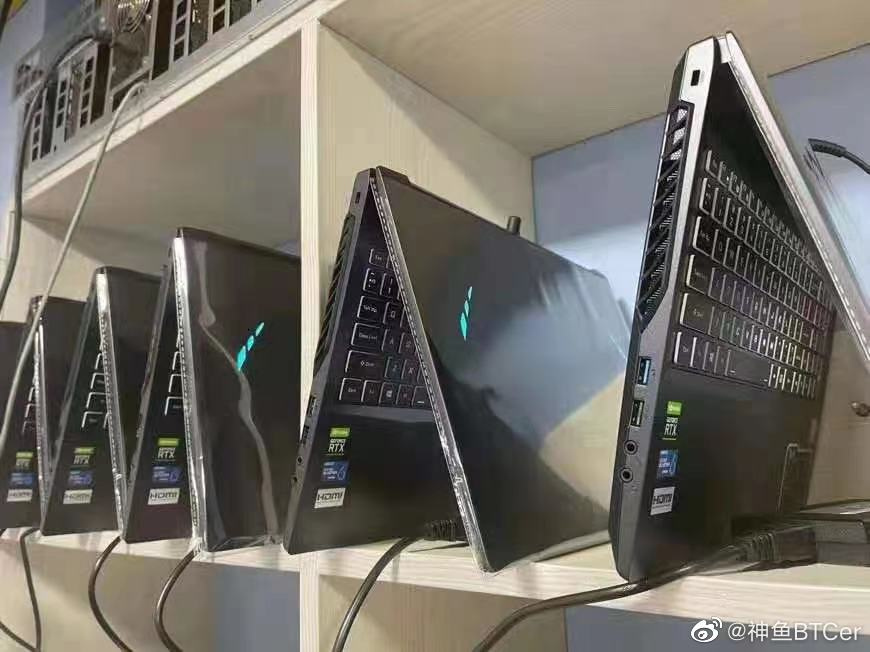 Lack of a supply of graphics cards, virtual money plows buy a lot of laptops to exploit electronic money - Photo 1.