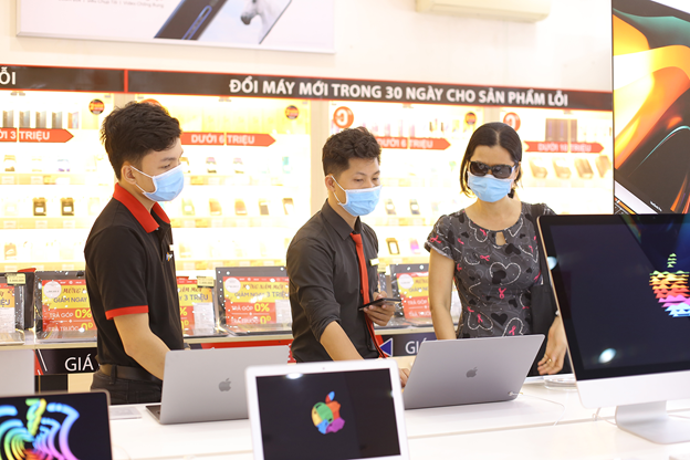 Laptop sales increased 5 times after Tet
