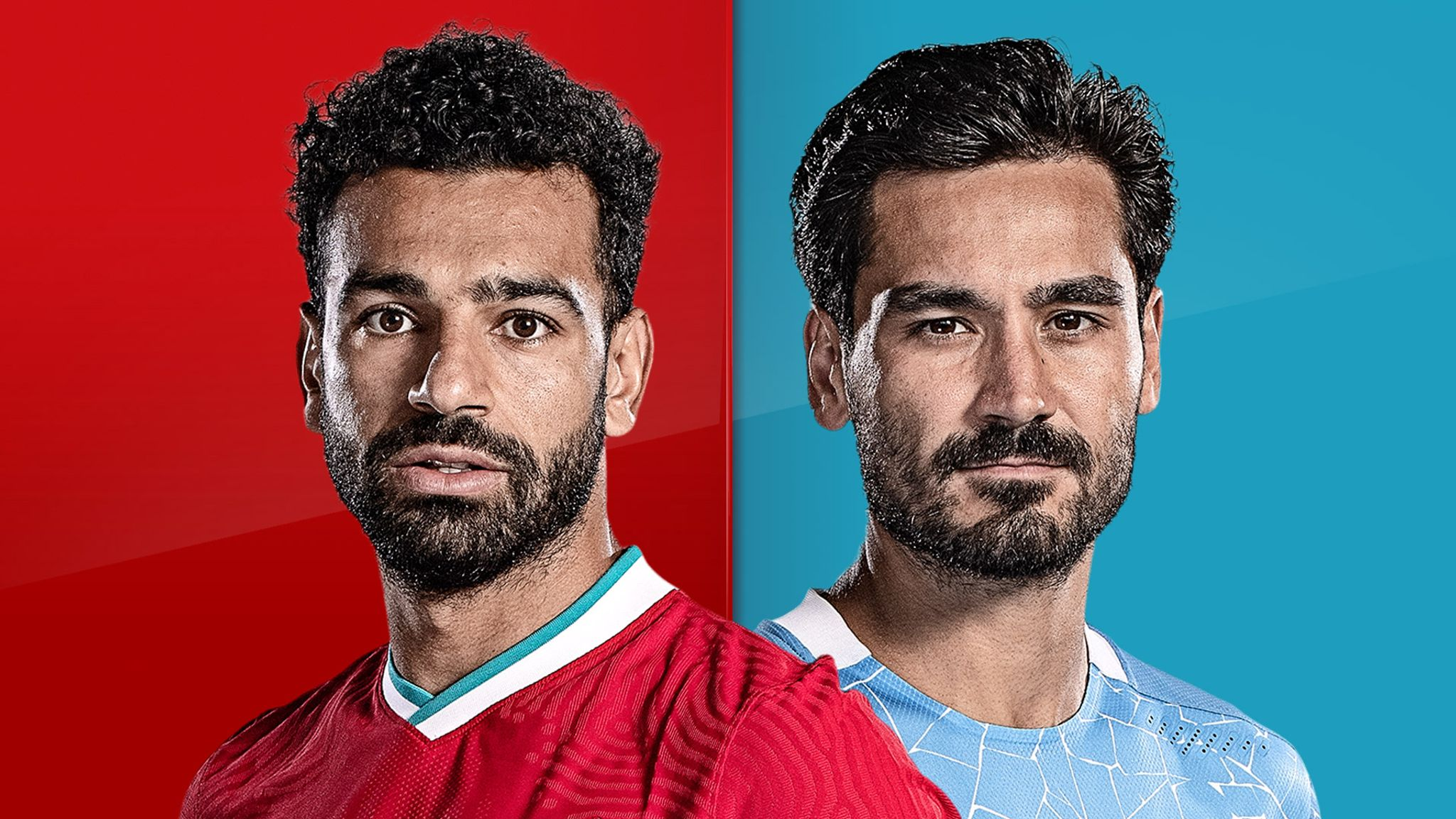 Salah (left) and Gundogan are the most awaited players of Liverpool and Man City in the competition in round 22 of the Premier League today 7/2.