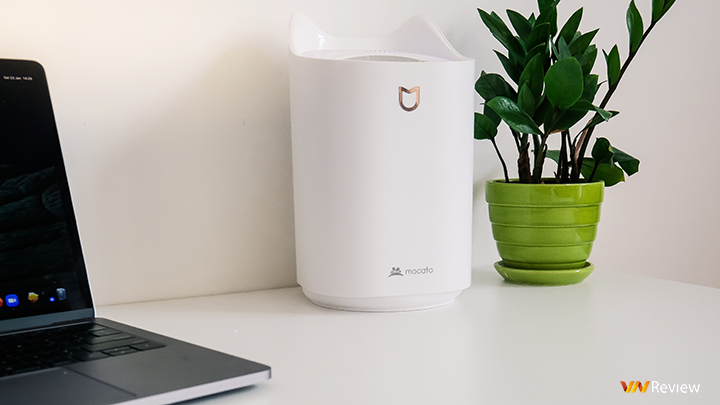 Mocato M501 Air humidifier on hand: Strong mist spraying, large capacity tank - VnReview