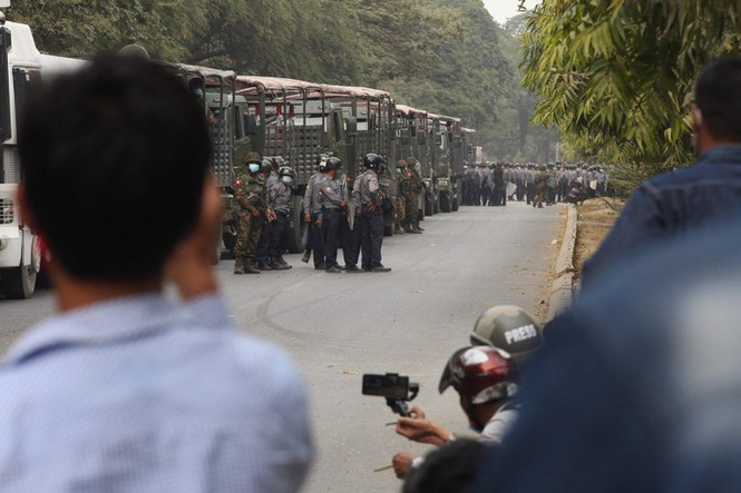 Myanmar coup: 2 more protesters were killed by bullets - photo 1