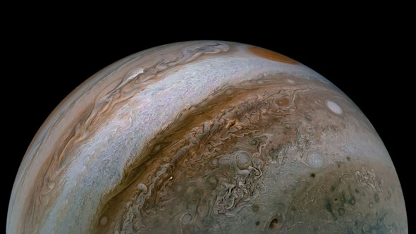 NASA's Juno spacecraft recently captured a stunning image of Jupiter: Digital Photography Review