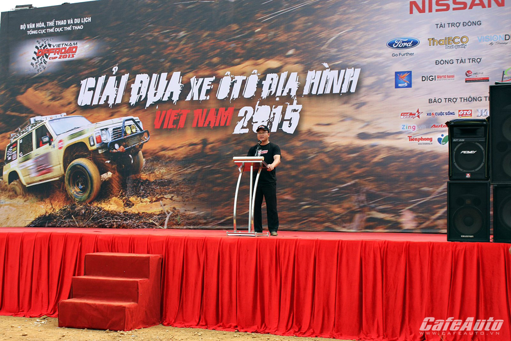 Opening of the VOC 2015 off-road racing