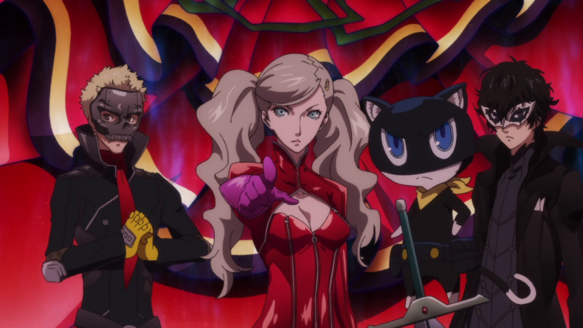 Persona5 The Animation – UK Blu-ray release details – All the Anime
