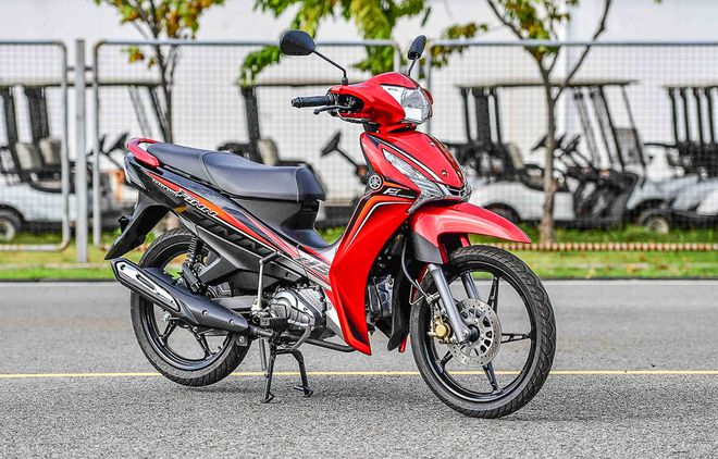 Honda Wave Alpha 'collapsed' because Yamaha Sirius juniors were about to go to battle: Powerful, super fuel-efficient photo 1