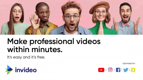 Professional online video creation tool in just a few minutes