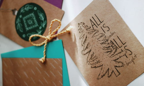 How to Make a Personalized Christmas Card