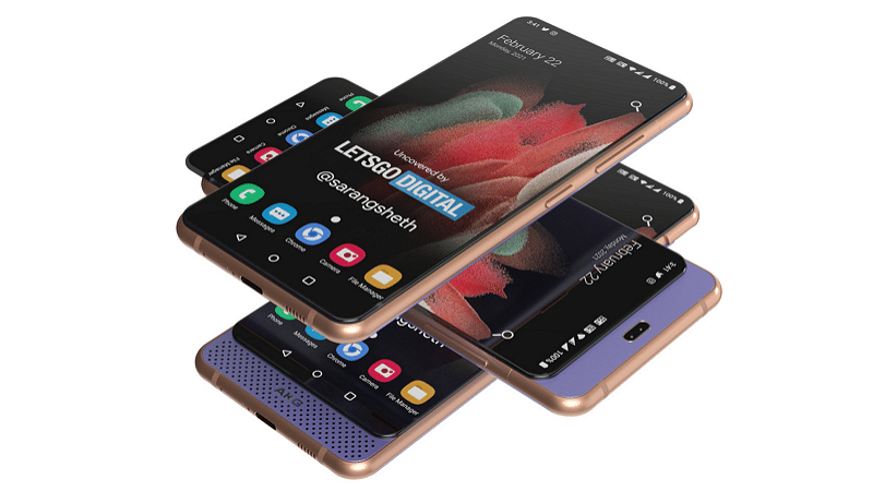 Samsung smartphone with two sliders - LetsGoDigital