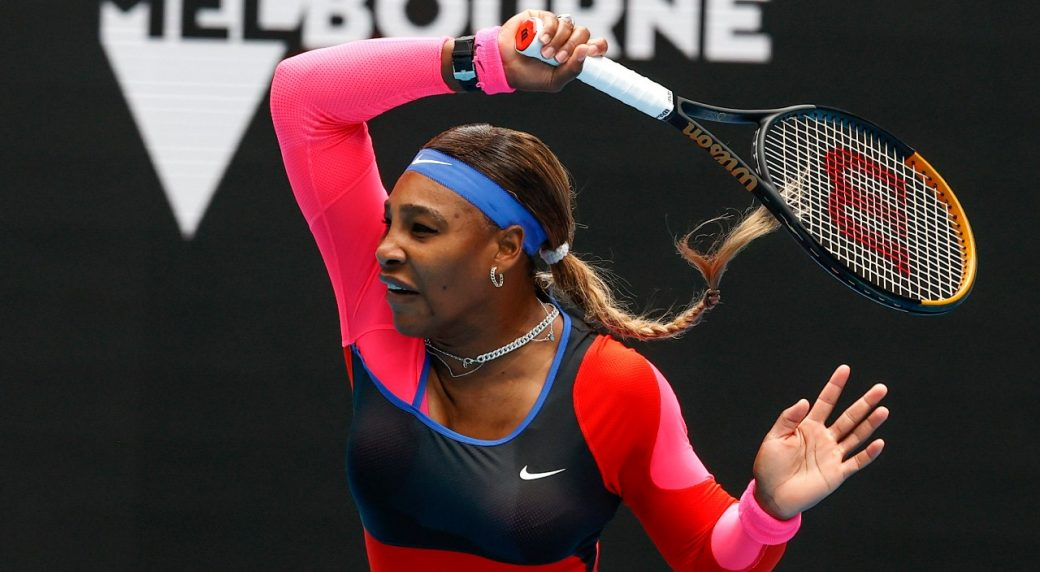 Serena is only one Grand Slam from Margaret Court's record.  Photo: AP.