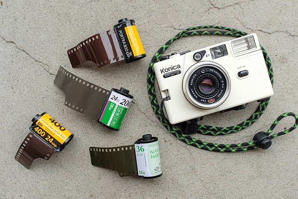The absolute beginner's guide to film photography: Color print film: Digital Photography Review