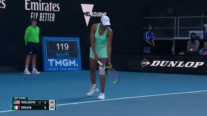 The failure that was inspired by Venus Williams