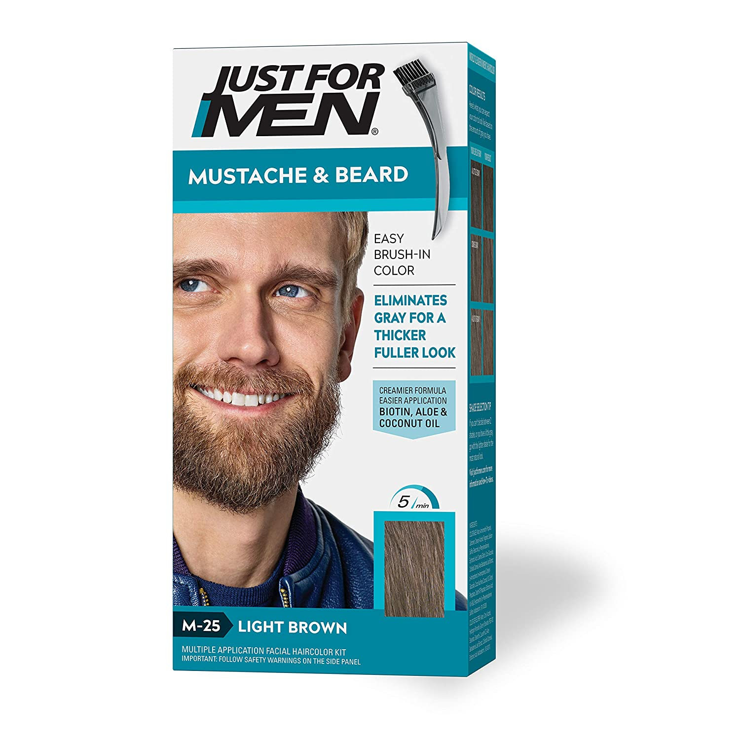 Just For Men mustache and beard dye coloring, best beard dyes